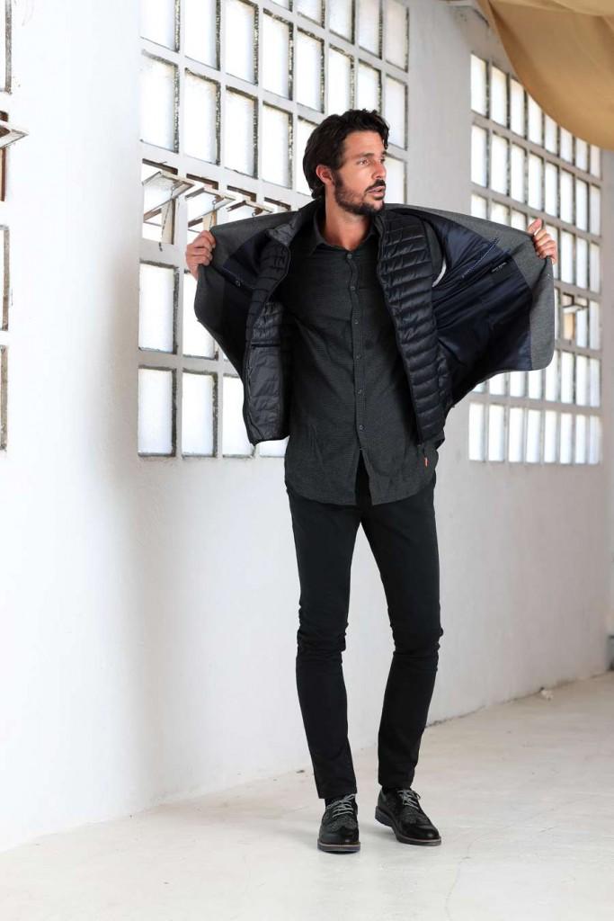 chaleco plumas moda