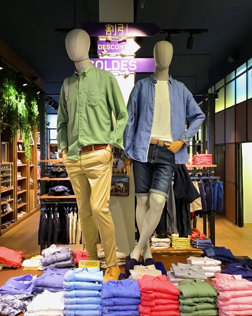 tienda moda masculina barcelona