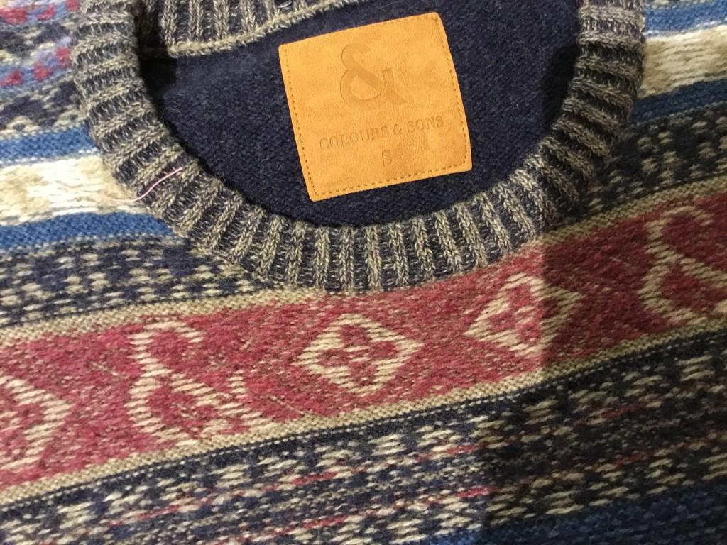 jersey lana hombre